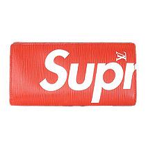 × Supreme 2017AW ブラザ エピ ウォレット