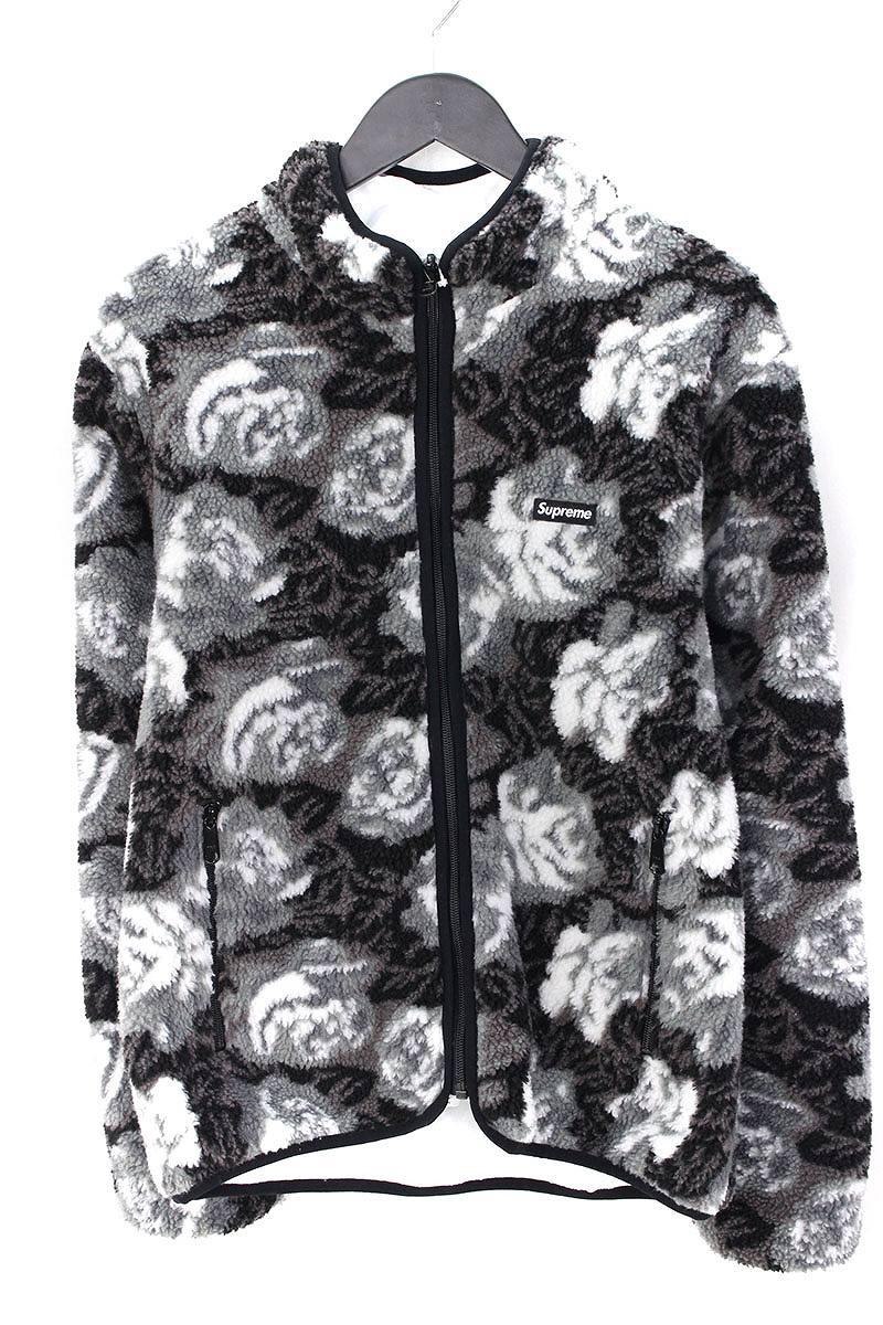 シュプリーム SUPREME Roses Sherpa Fleece Reversible Jacket Roses Sherpa Fleece Reversible Jacket ローズフリースボアリバーシブルジャケット