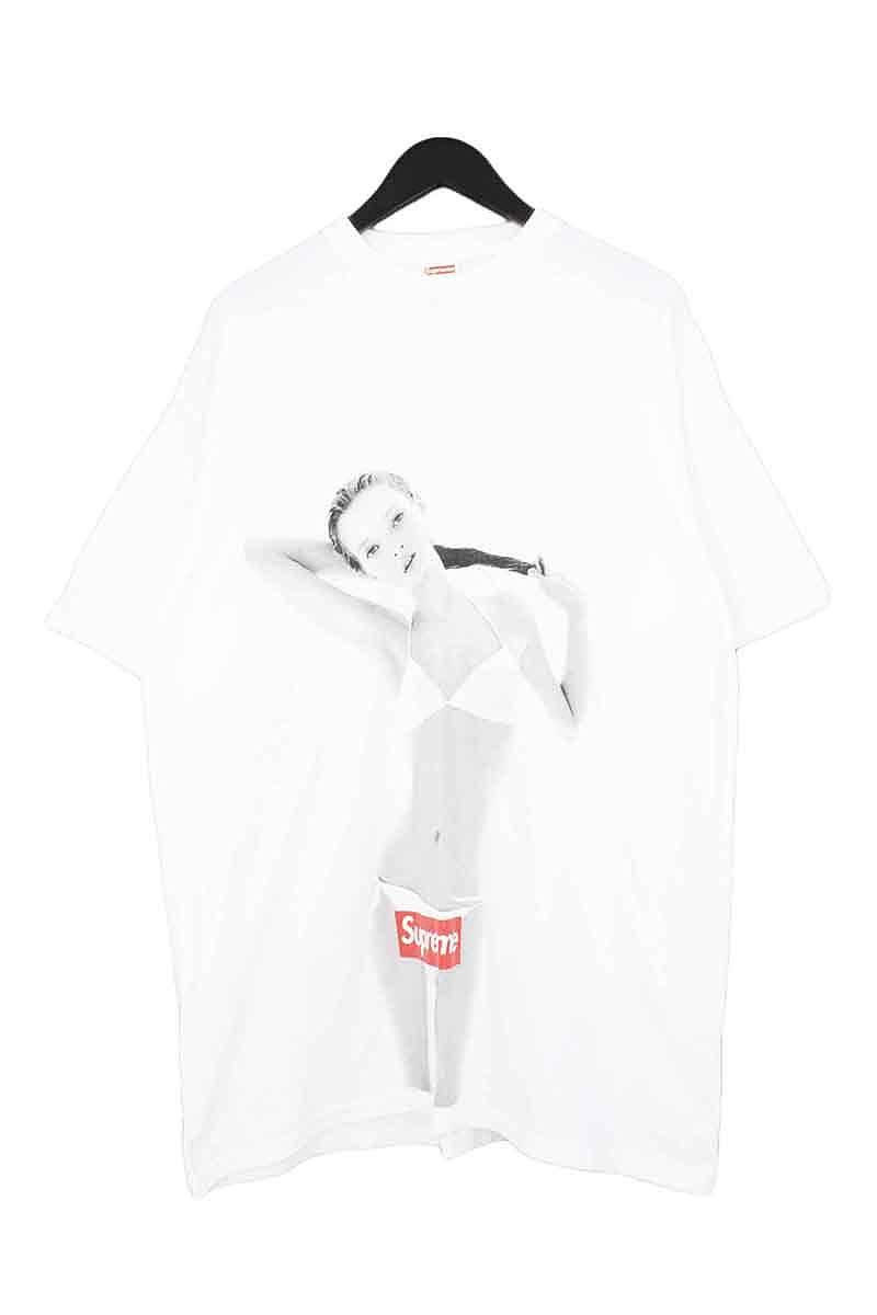 シュプリーム SUPREME 10th Anniversary Kate Moss Tee 10周年ケイトモスボックスロゴTシャツ