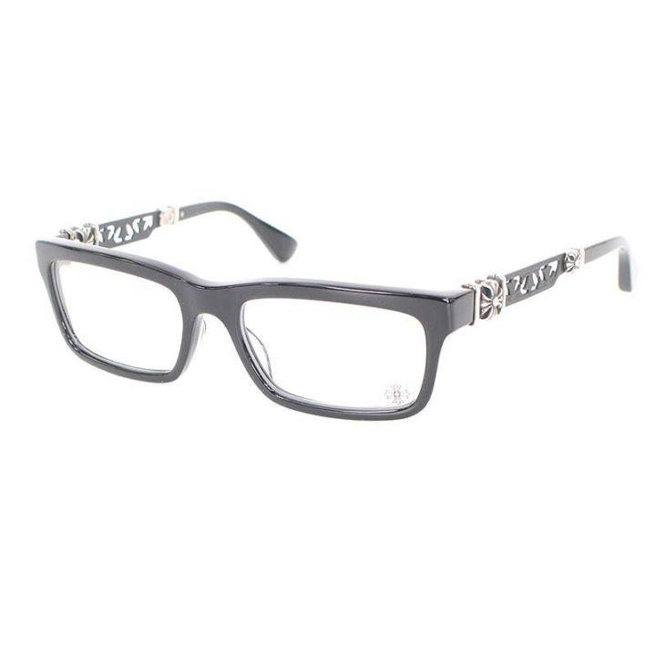 クロムハーツ Chrome Hearts PENETRANUS Ⅲ CHクロステンプルスクエア型眼鏡