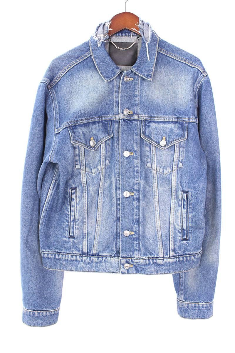 バレンシアガ BALENCIAGA Campaign Logo Denim Jacket キャンペーンロゴデニムジャケット