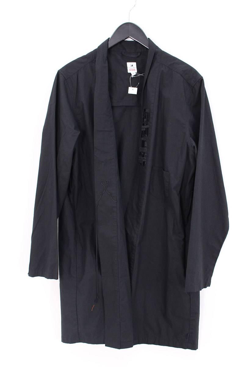シュプリーム SUPREME × サスクワッチファブリックス Sasquatchfabrix Hanten coat 袖プリントハンテンコート