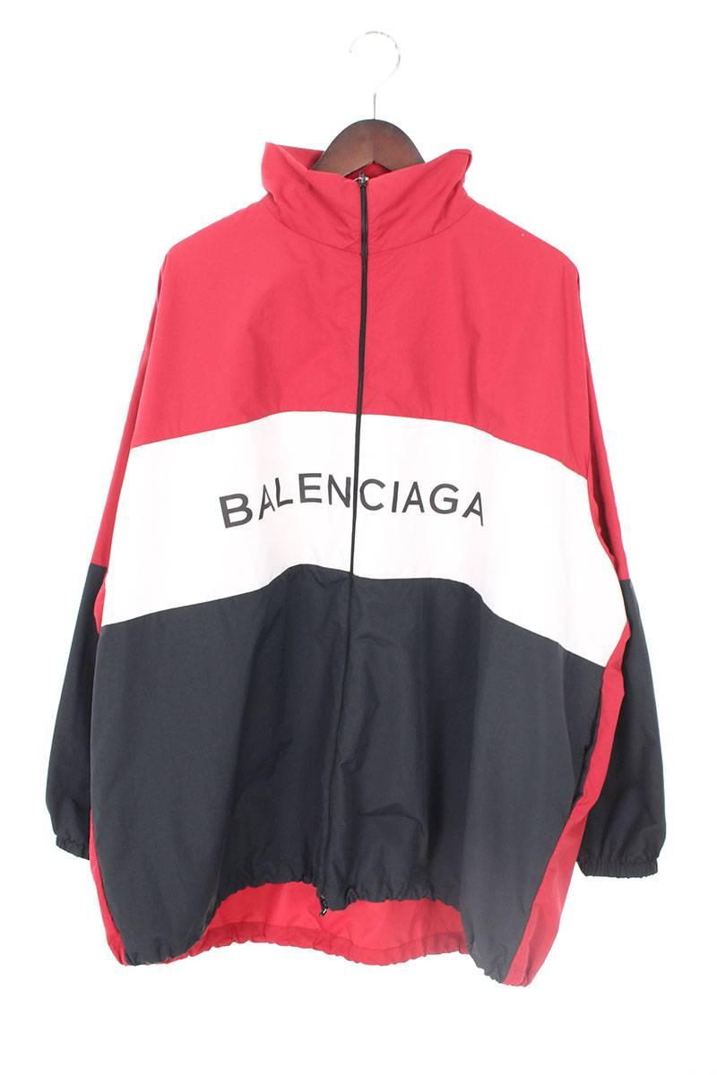 バレンシアガ BALENCIAGA 508903 TXD12 ロゴプリントトラックジャケット