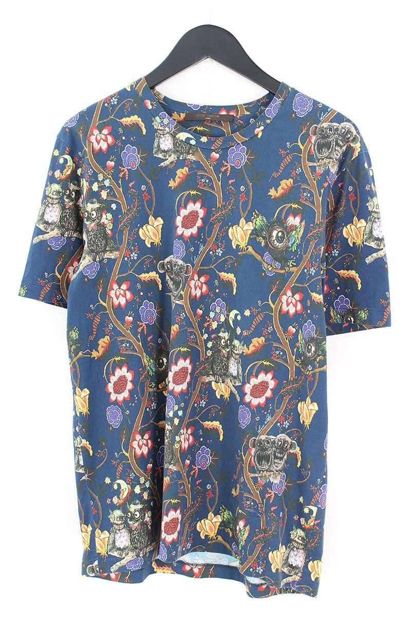 ルイヴィトン LOUISVUITTON RM132H4JR57JC5 チャップマンブラザーズ総柄Tシャツ