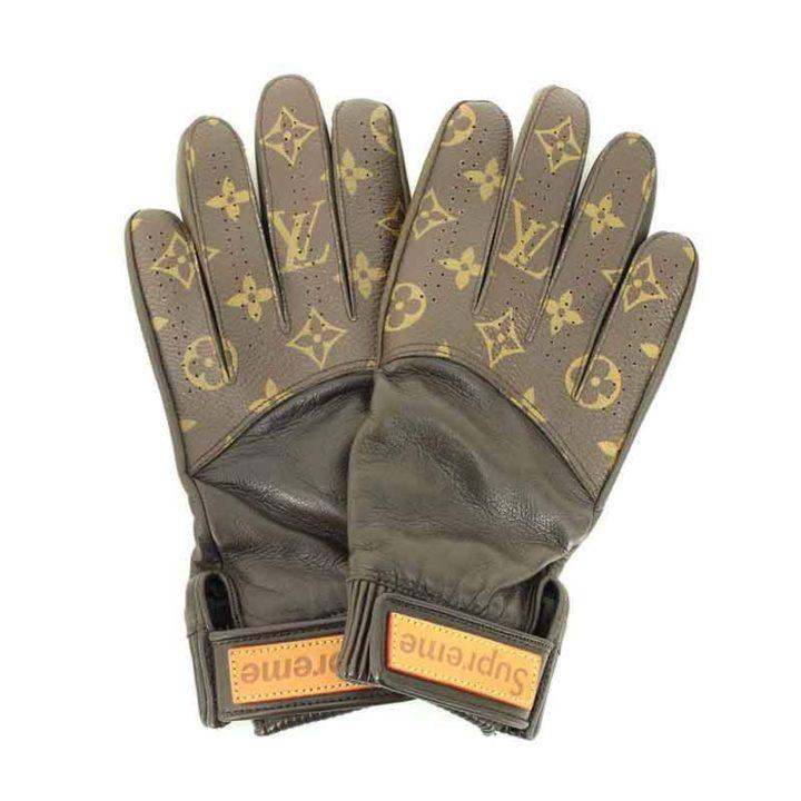 シュプリーム SUPREME × ルイヴィトン LOUIS VUITTON LV Baseball Gloves グローブ
