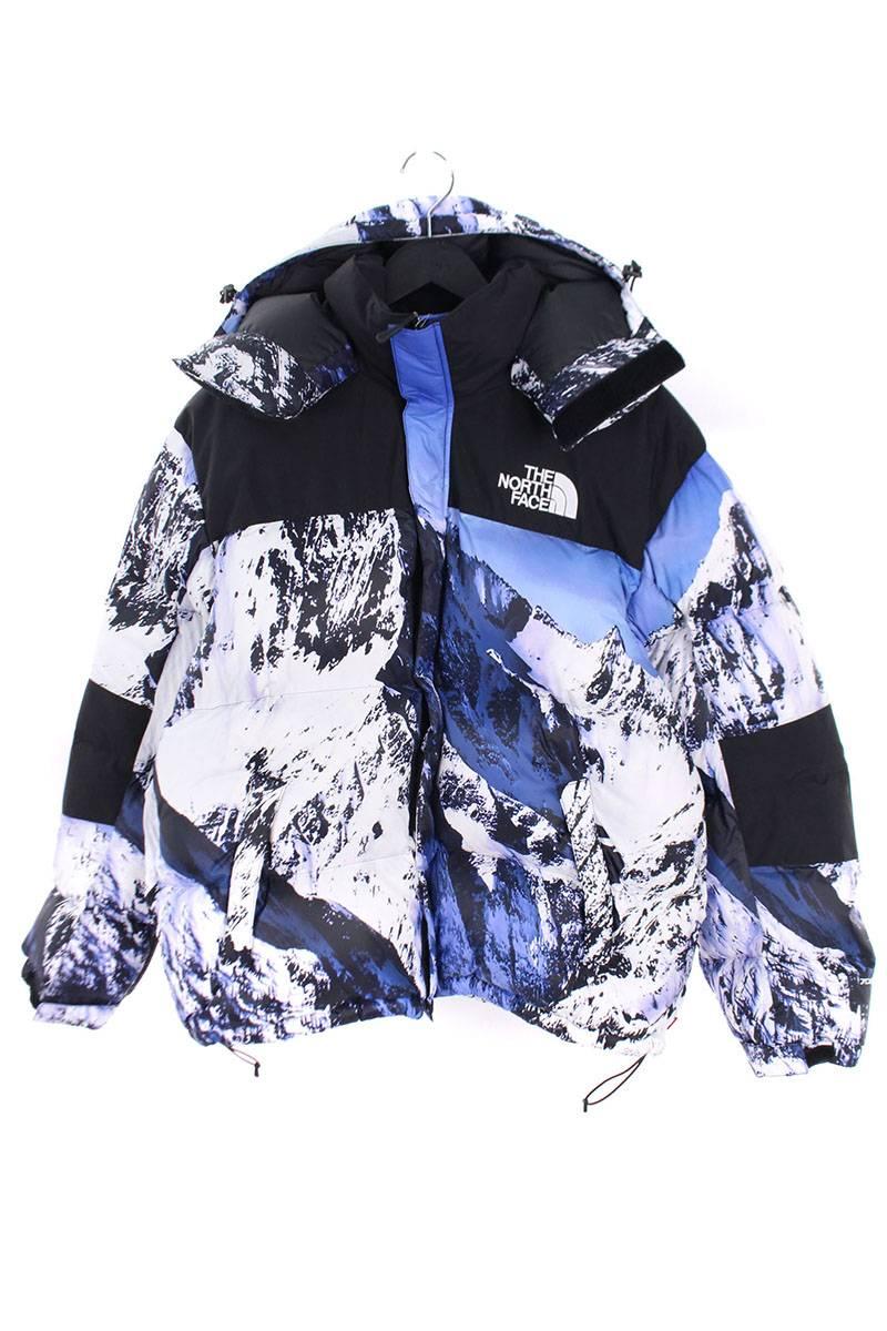 シュプリーム SUPREME The North Face Mountain Baltoro Jacket 総柄バルトロダウンジャケット