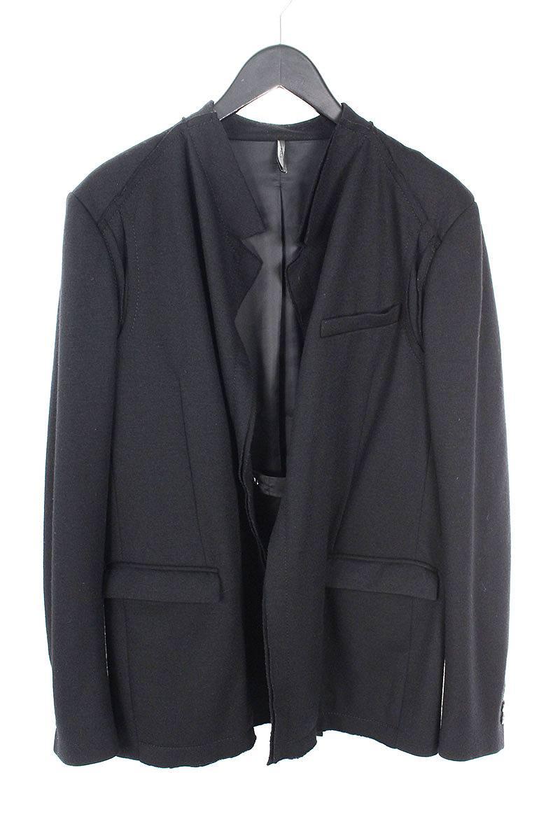 ディオールオム DiorHOMME 0H3124320209 フェルトドレープデザインテーラードジャケット