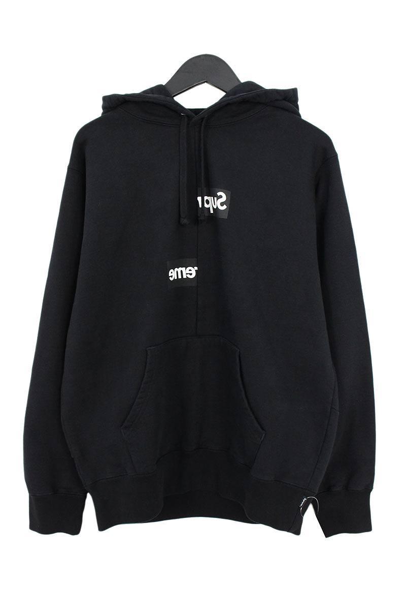シュプリーム SUPREME × コムデギャルソン COMME des GARCONS Split Box Logo Hooded Sweatshirt スプリットボックスロゴパーカー