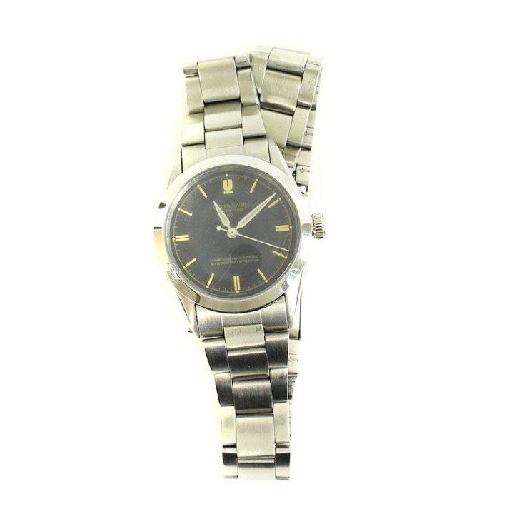 アンダーカバー UNDERCOVER FUCK THE CLOCK UCR4A07 アンティーク調2重巻き腕時計