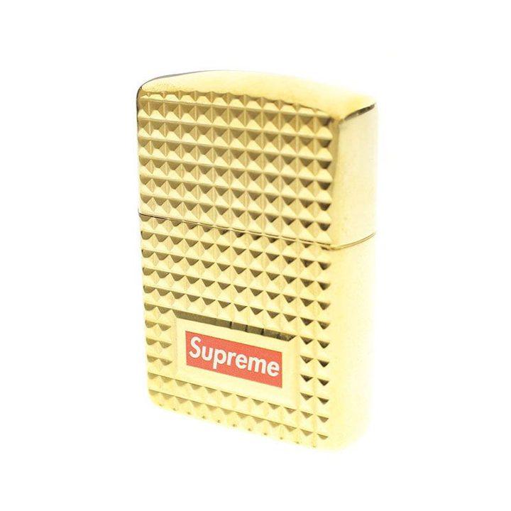 シュプリーム SUPREME Diamond Cut Zippo ダイヤモンドカットジッポライター