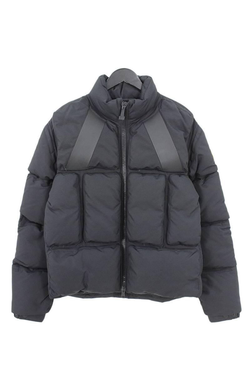 モンクレール MONCLER × オフホワイト OFF-WHITE Trouville Black Padded Jacket トルヴィルダウンジャケット
