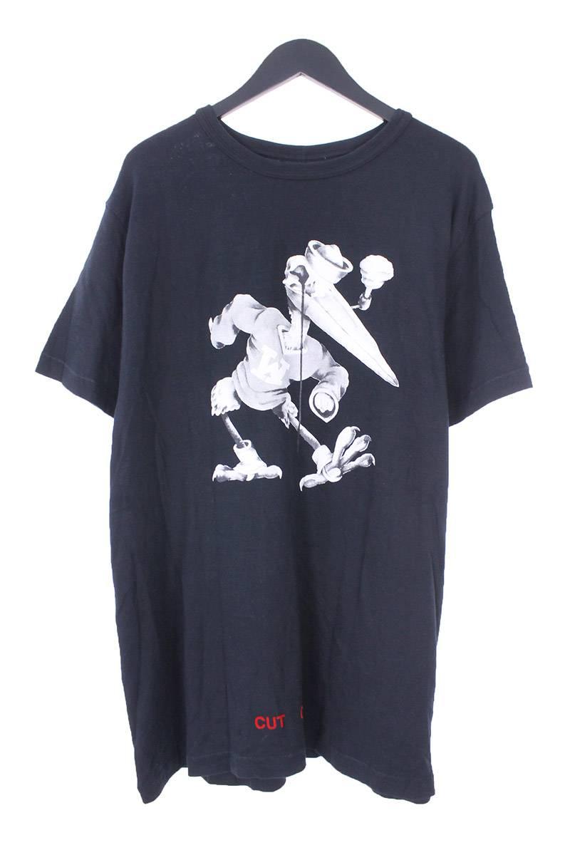 オフホワイト OFF-WHITE フォトプリントTシャツ