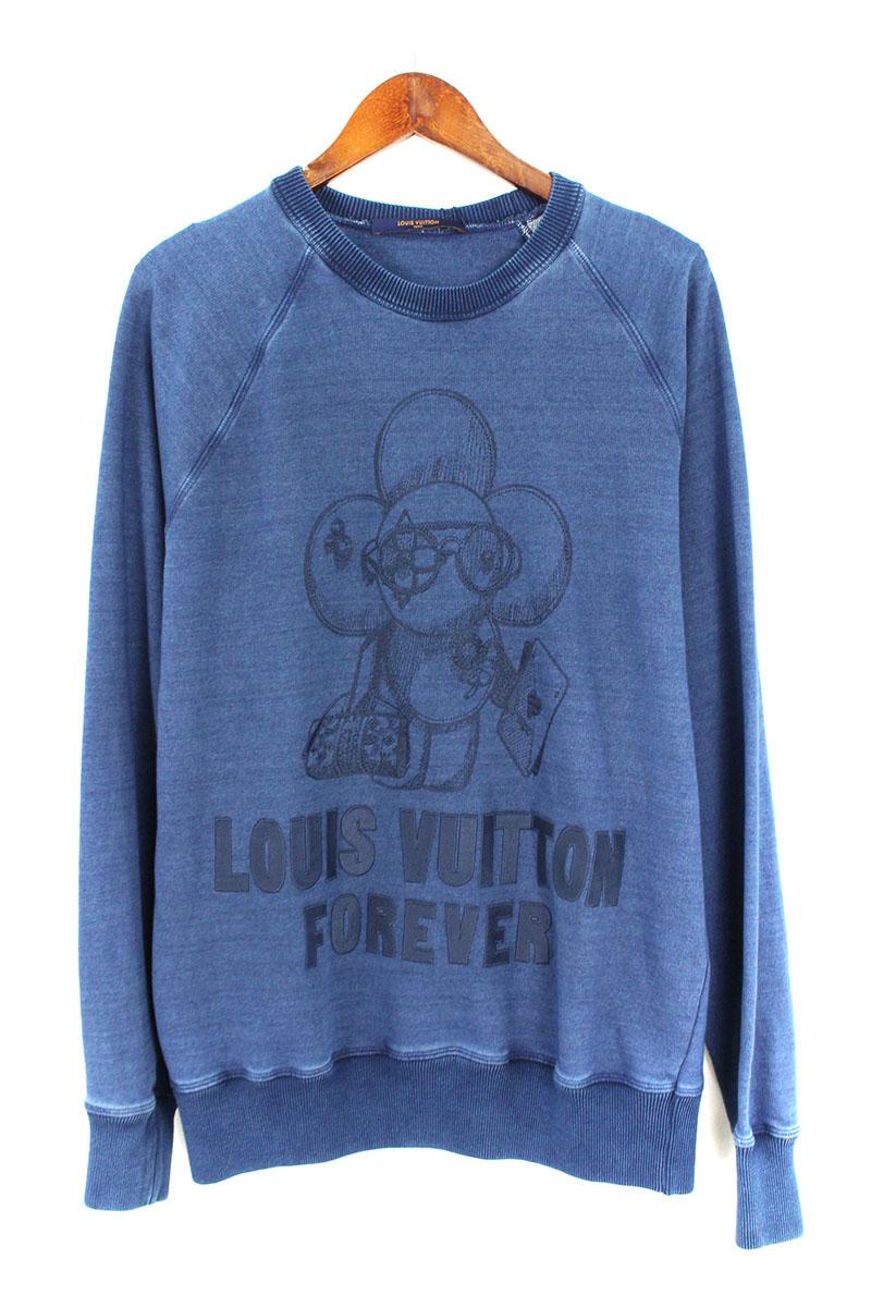 ルイヴィトン LOUISVUITTON RM182M FMC HFY15W ヴィヴィエンヌ刺繍クルーネックスウェット