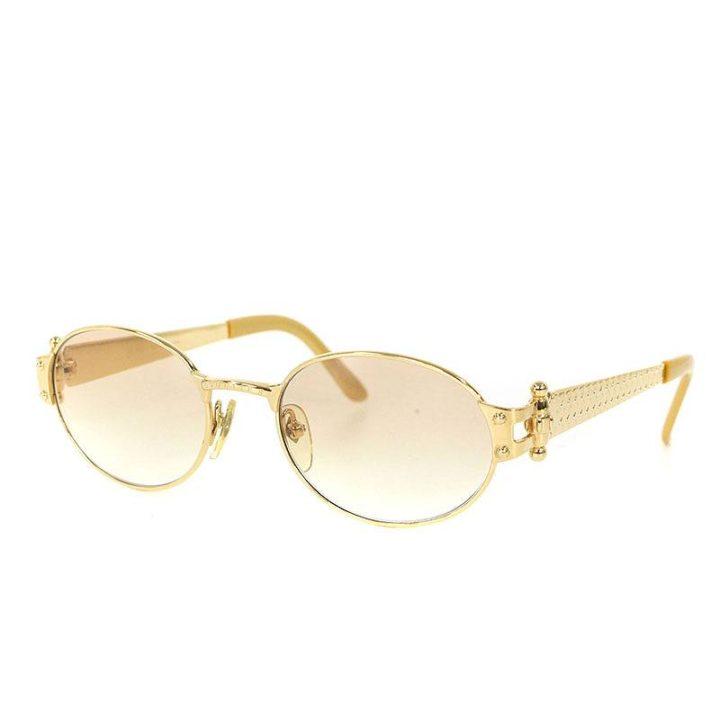 ジャンポールゴルチエ JeanPaulGAULTIER 56-6104 1990sラウンドフレーム眼鏡