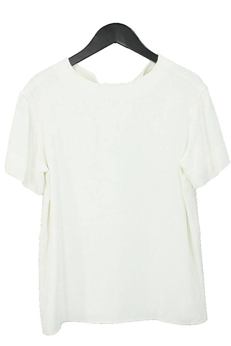 セリーヌ CELINE バックスリットプルオーバー半袖シャツ
