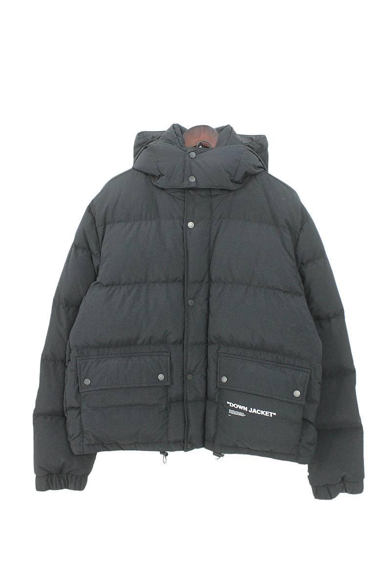 オフホワイト OFF-WHITE Quote Puffer Down Jacket OMED005F18803015 クオートパファーダウンジャケット
