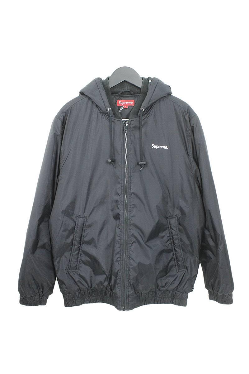 シュプリーム SUPREME 2-Tone Hooded Sideline Jacket サイドラインロゴブルゾン