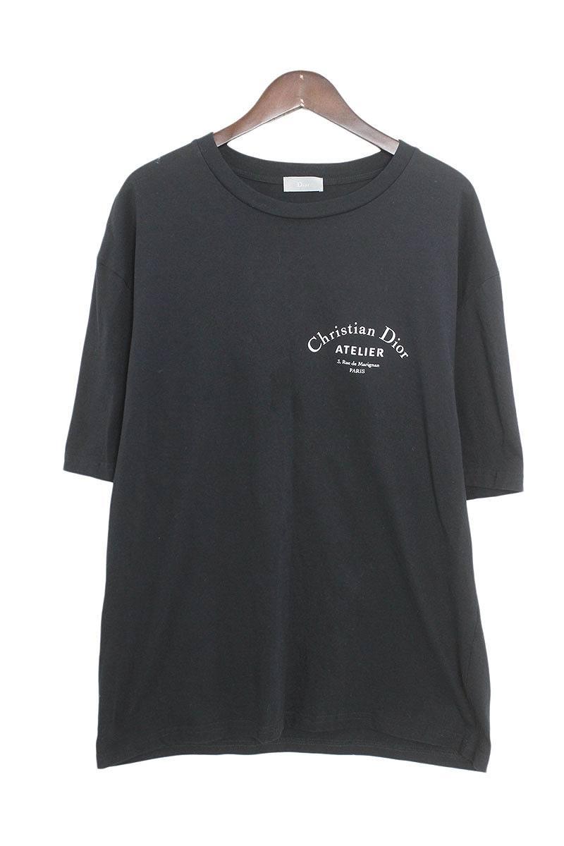 ディオールオム DiorHOMME Atelier Printed Tee 863J621I2712 アトリエプリントTシャツ