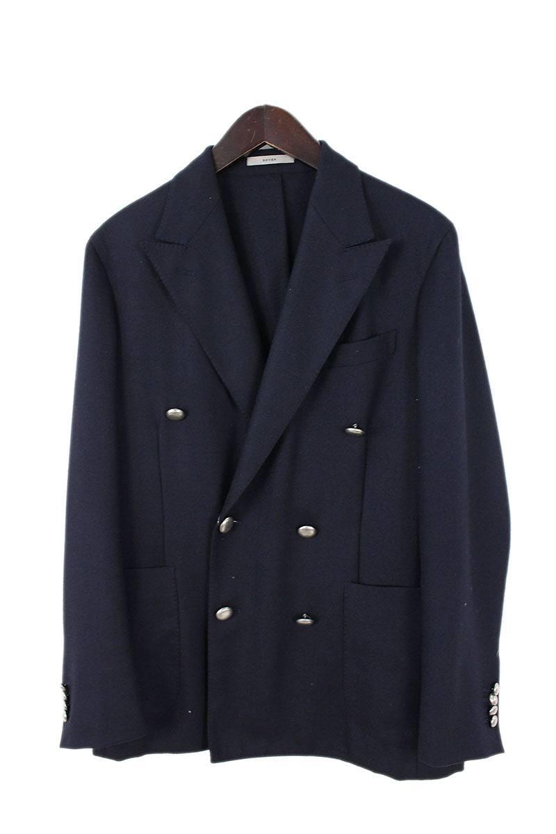 ボリオリ BOGLIOLI X4602E DOVER メタルボタンダブルブレストジャケット