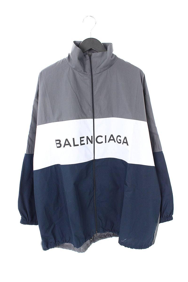 バレンシアガ BALENCIAGA 508901 TWB13 ロゴプリントトラックジャケット