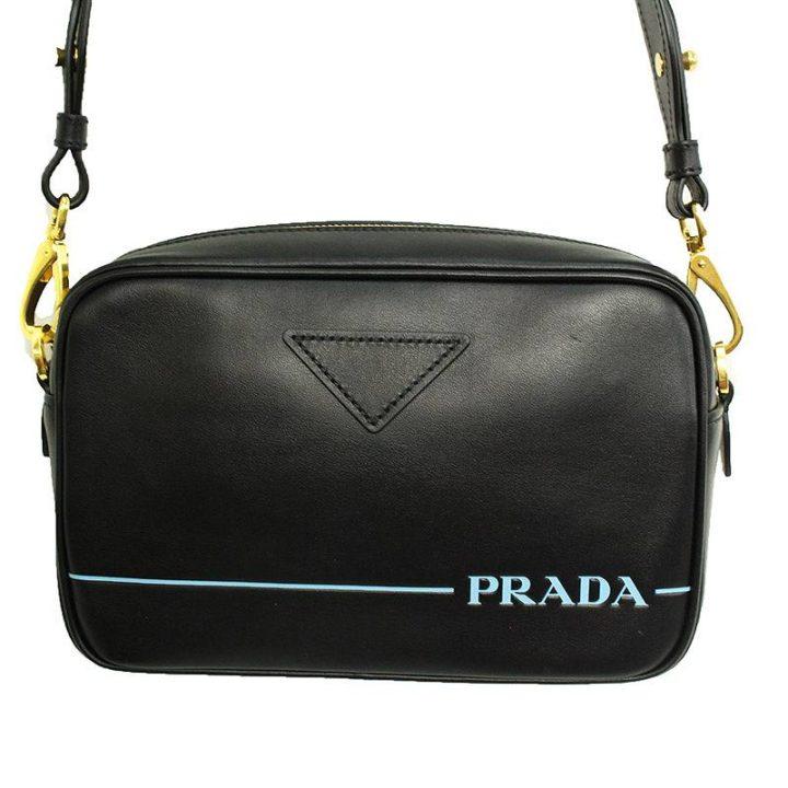 プラダ PRADA Mirage shoulder bag カーフレザーミラージュショルダーバッグ