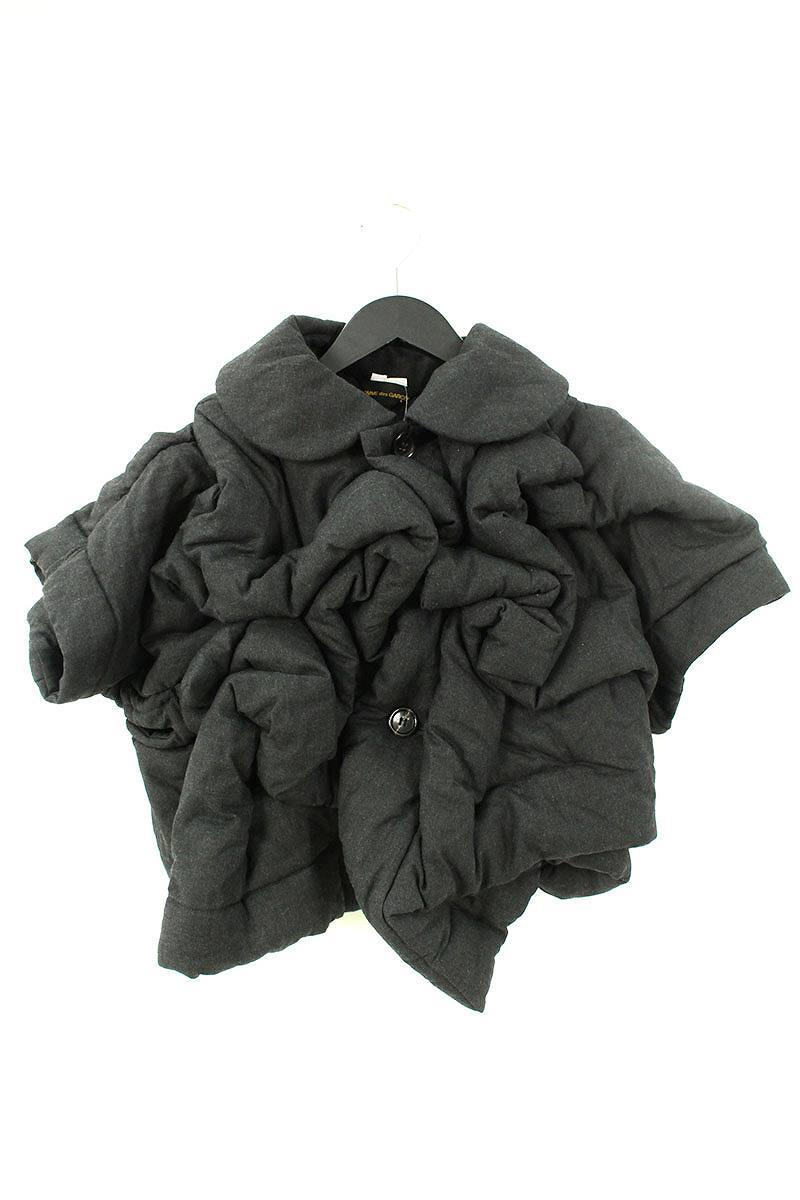 コムデギャルソン COMME des GARCONS GF-J031 AD2010中綿入りシャーリングボレロジャケット