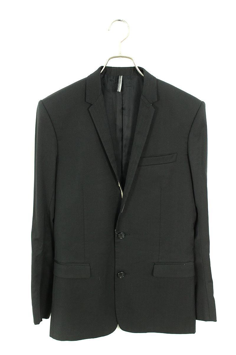 ディオールオム DiorHOMME ラペルステッチデザイン2Bジャケット
