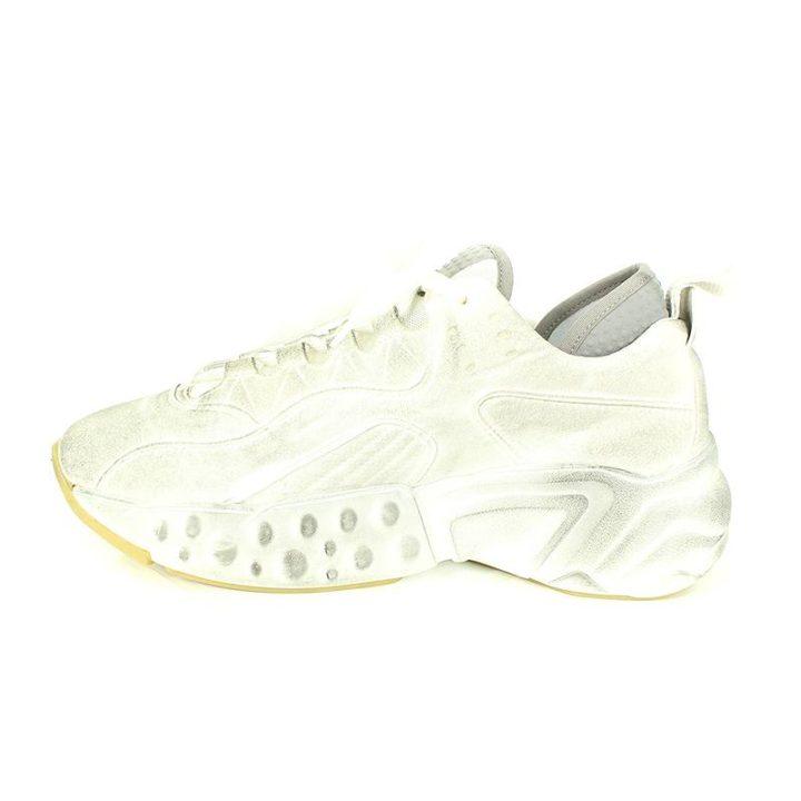 アクネストゥディオズ ACNE STUDIOS Manhattan sneakers ダスト加工レースアップスニーカー