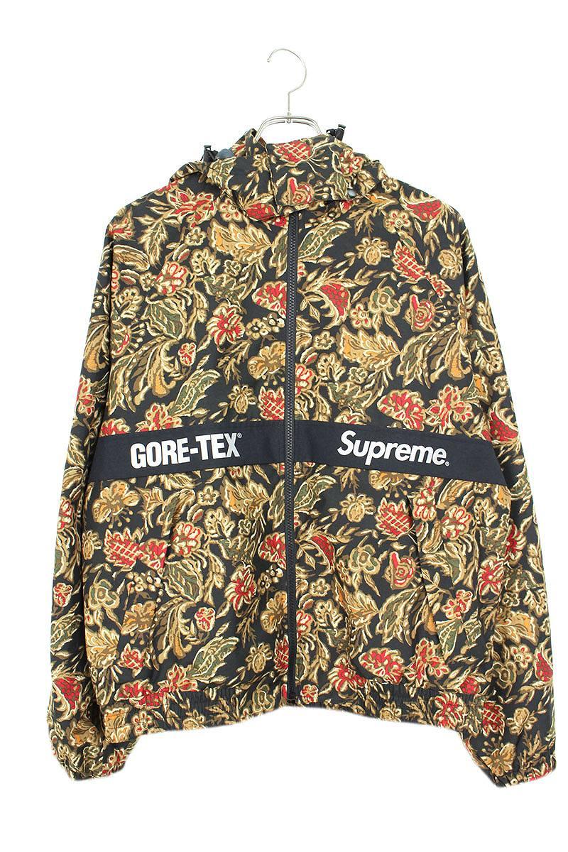シュプリーム SUPREME GORE-TEX Court Jacket 総柄ゴアテックスジップアップジャケット