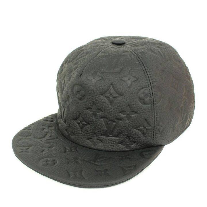ルイヴィトン LOUISVUITTON MP2320 キャスケット・モノグラム クイル 1.0 モノグラムエンボスレザー帽子