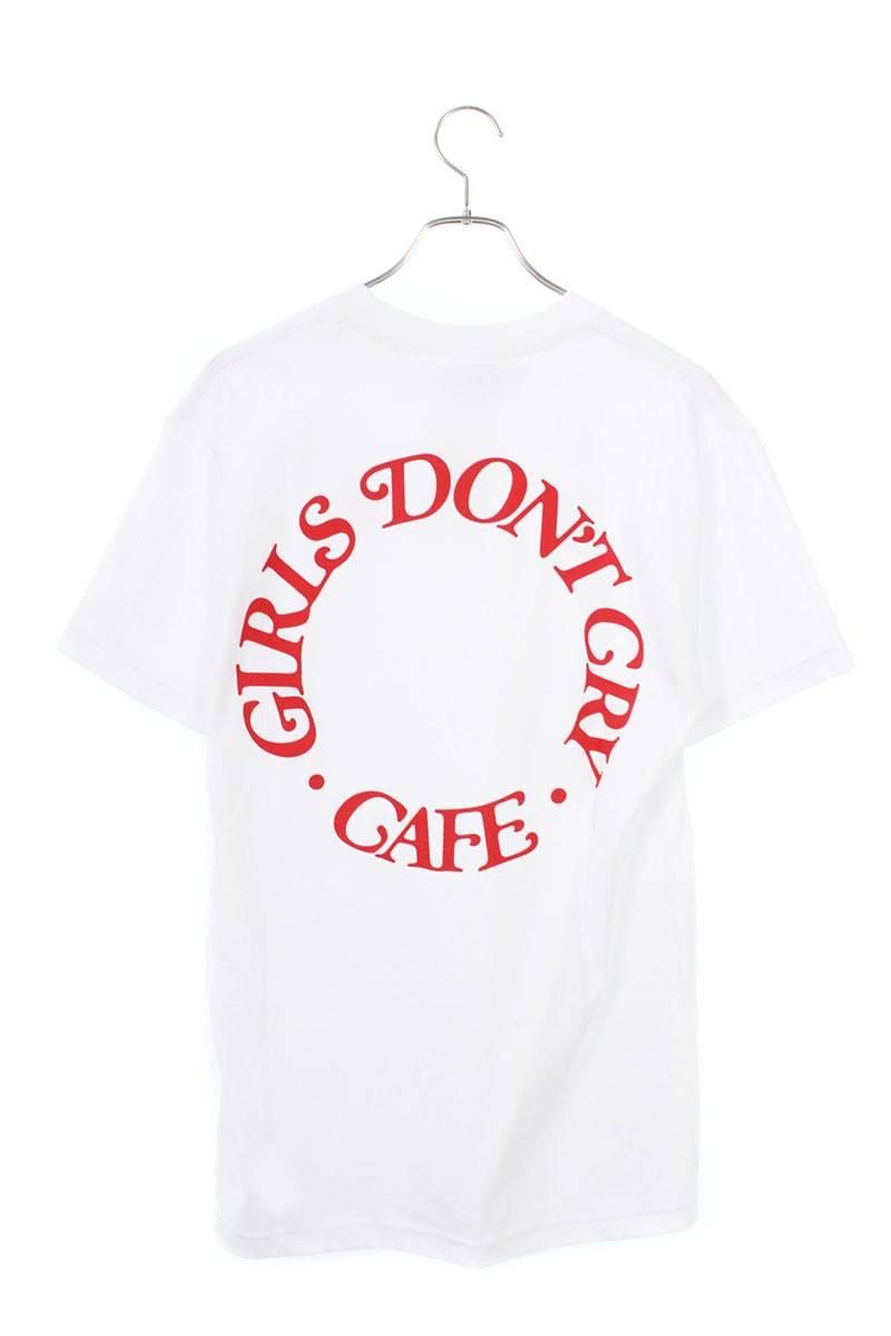 ガールズドントクライ Girls Don't Cry × AT TOKYO  CDC-01 T-Shirts CAFEロゴプリントTシャツ