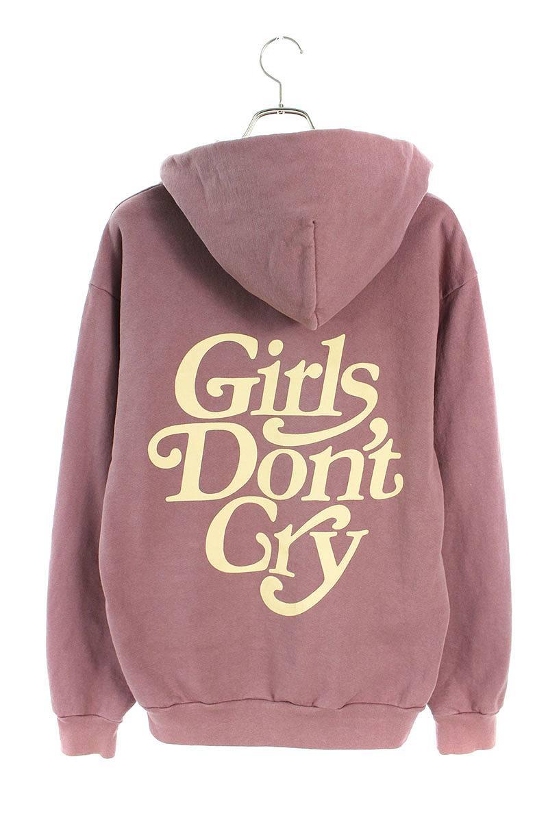 ガールズドントクライ Girls Don't Cry × UNIONTOKYO 限定 ロゴ刺繍プリントプルオーバーパーカー