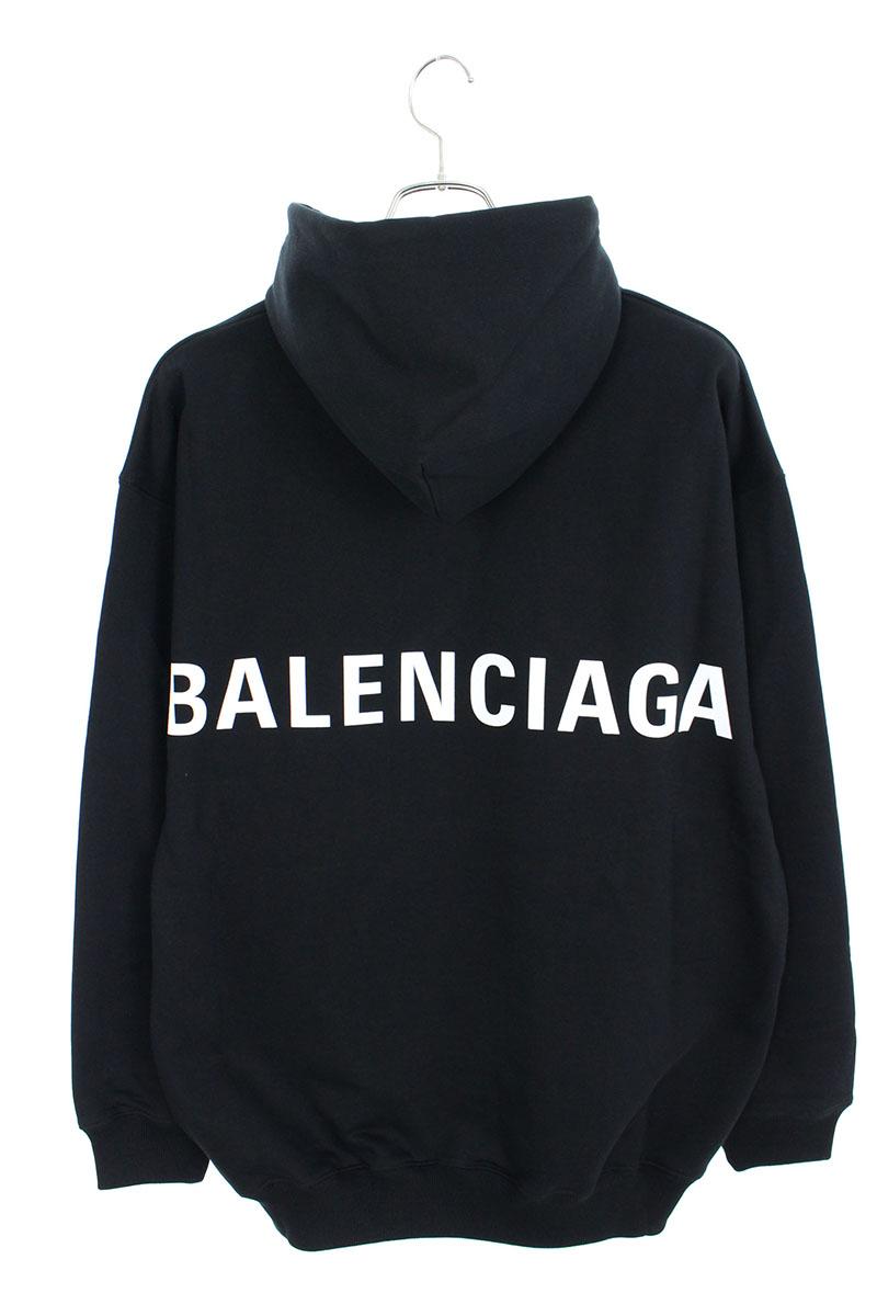 バレンシアガ BALENCIAGA ARCHETYPE 556143 TAV37 バックロゴプルオーバーパーカー