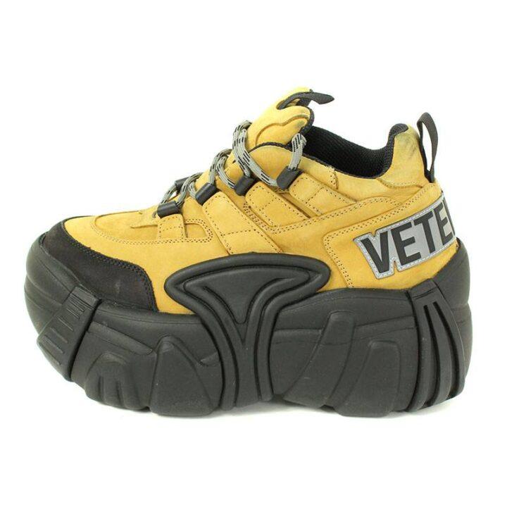 ヴェトモン VETEMENTS Chunky Sole Combat Sneakers 厚底コンバットブーツスニーカー