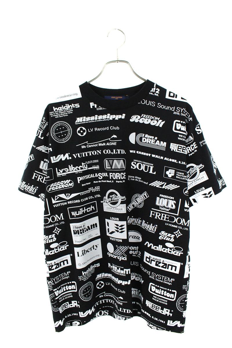 ルイヴィトン LOUISVUITTON RM 192M NPG HHY20W オールオーバーロゴプリンテッドTシャツ
