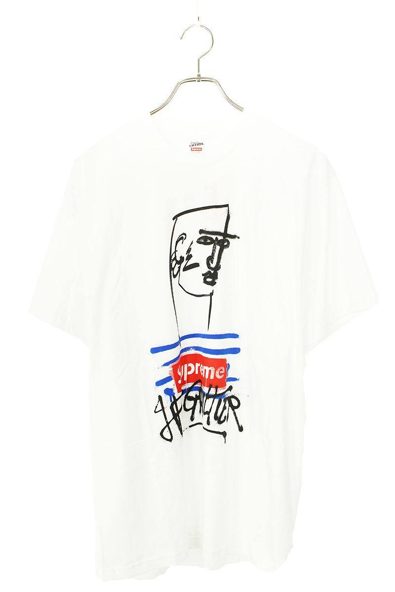シュプリーム SUPREME × ジャンポールゴルチエ JeanPaulGAULTIER Tee グラフィックボックスロゴTシャツ