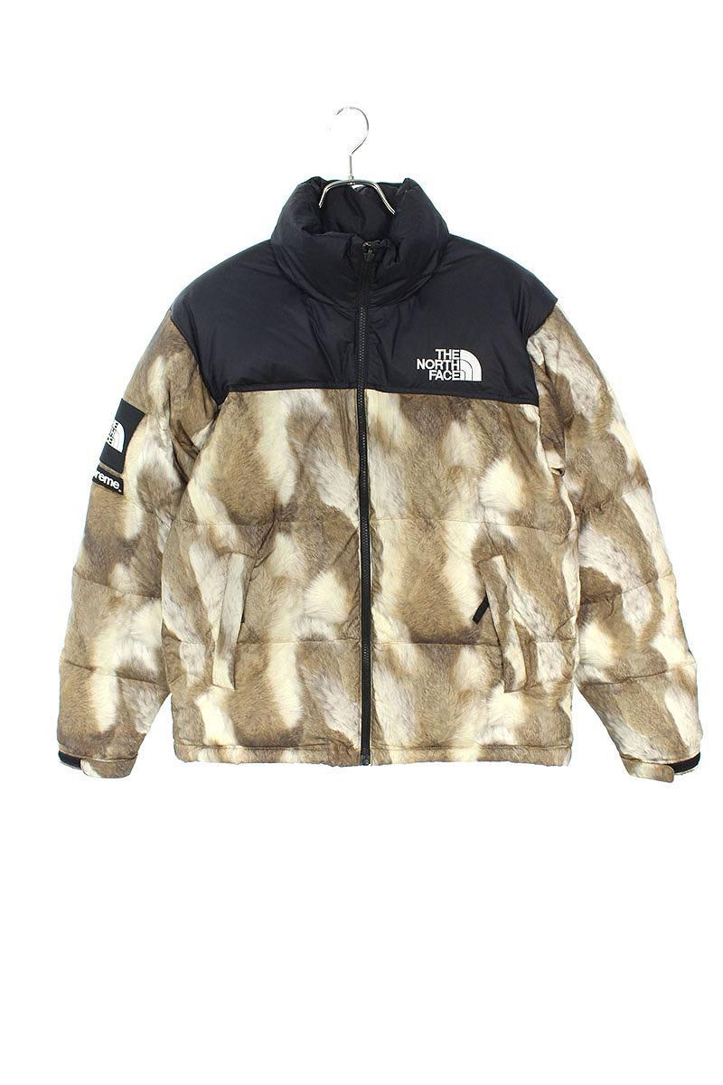 シュプリーム SUPREME × ノースフェイス THE NORTH FACE Fur Print Nuptse Jacket ファープリントヌプシダウンジャケット