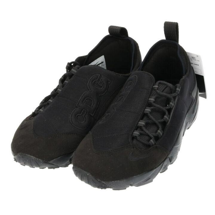 ナイキ NIKE  × ブラックコムデギャルソン BLACK COMME des GARCONS AIR FOOTSCAPE NM/CDG BV0075-001 エアフットスケープスニーカー