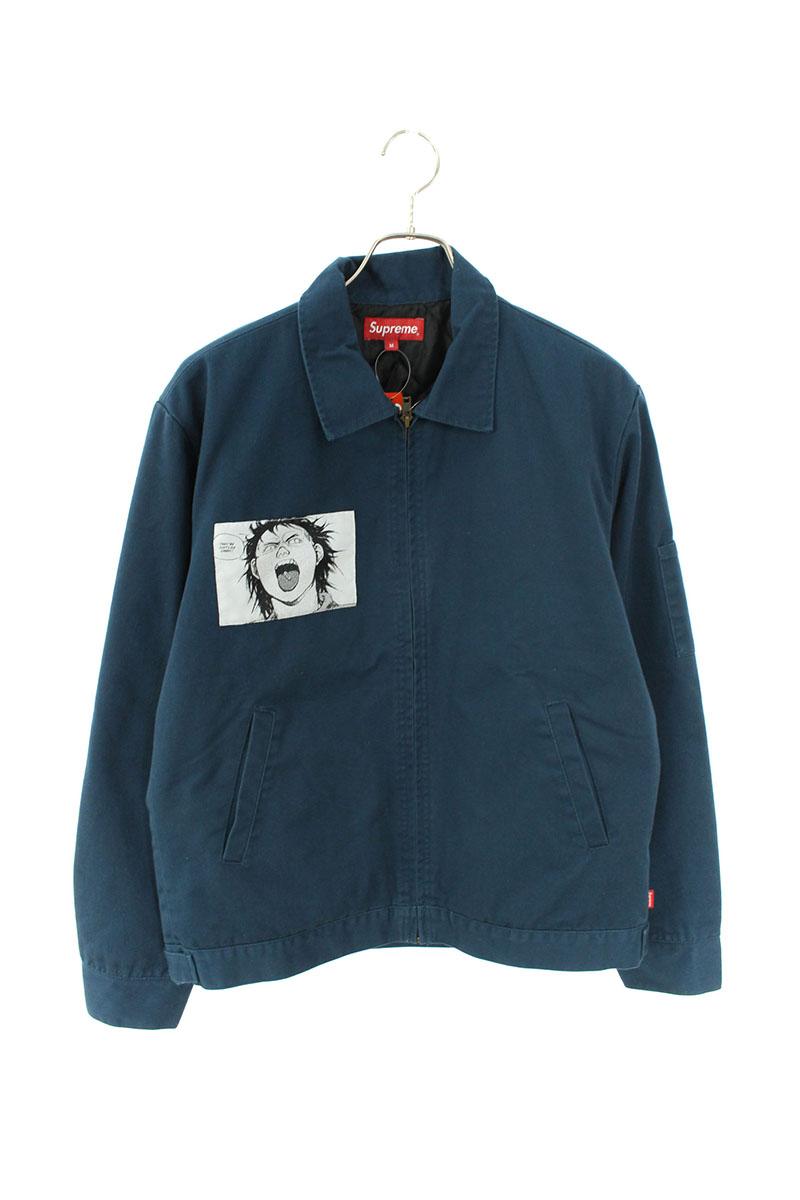 シュプリーム SUPREME Work Jacket ×AKIRAパッチ付きジャケット