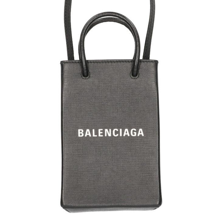 バレンシアガ BALENCIAGA 593826 ショッピングフォンショルダーバッグ