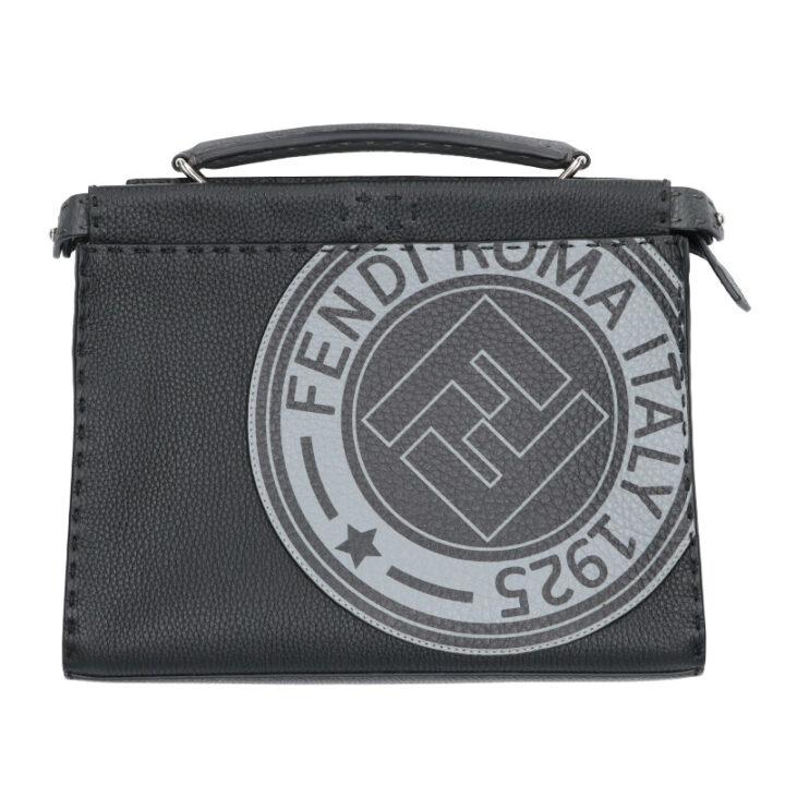フェンディ FENDI ミニピーカブーフィット 7VA422-A4BH セレリア 2WAYレザーハンドバッグ