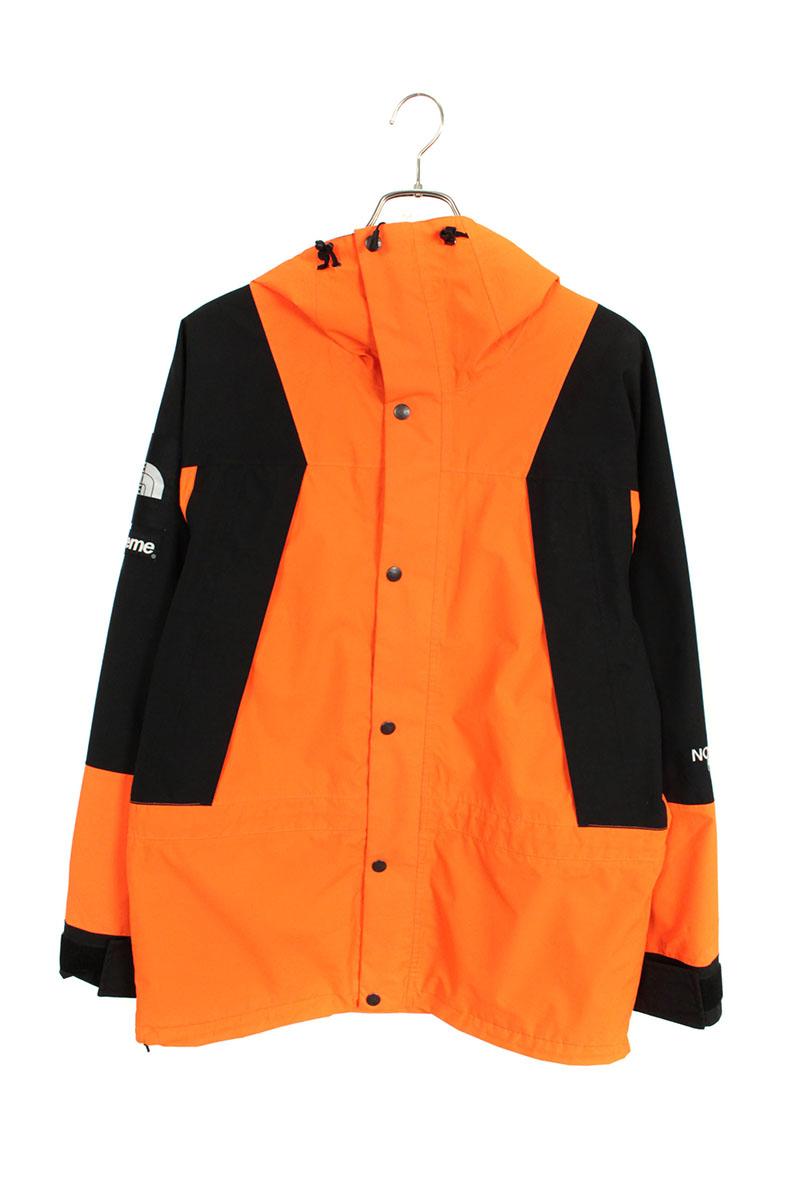 シュプリーム SUPREME × ノースフェイス THE NORTH FACE Mountain Light Jacket パワーオレンジマウンテンジャケット