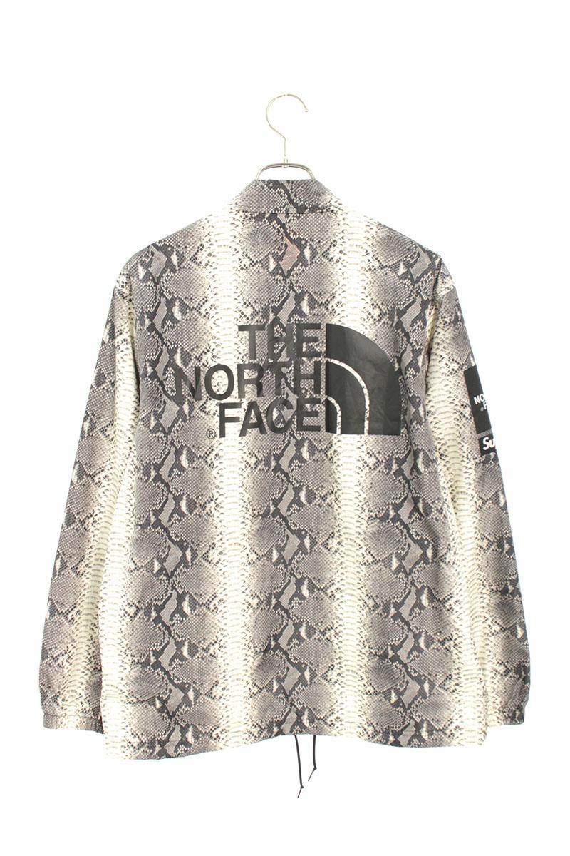 シュプリーム SUPREME × ノースフェイス THE NORTH FACE Snakeskin Taped Seam Coaches Jacket スネーク総柄テープドシームコーチジャケット