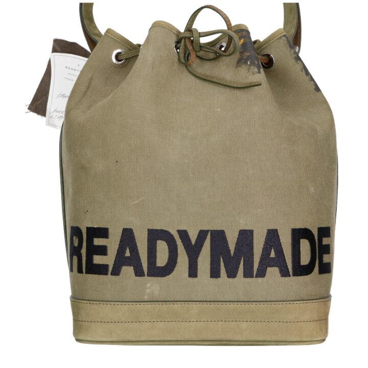 レディメイド READYMADE Drawstring Bag 再構築ロゴドローストリングバッグ