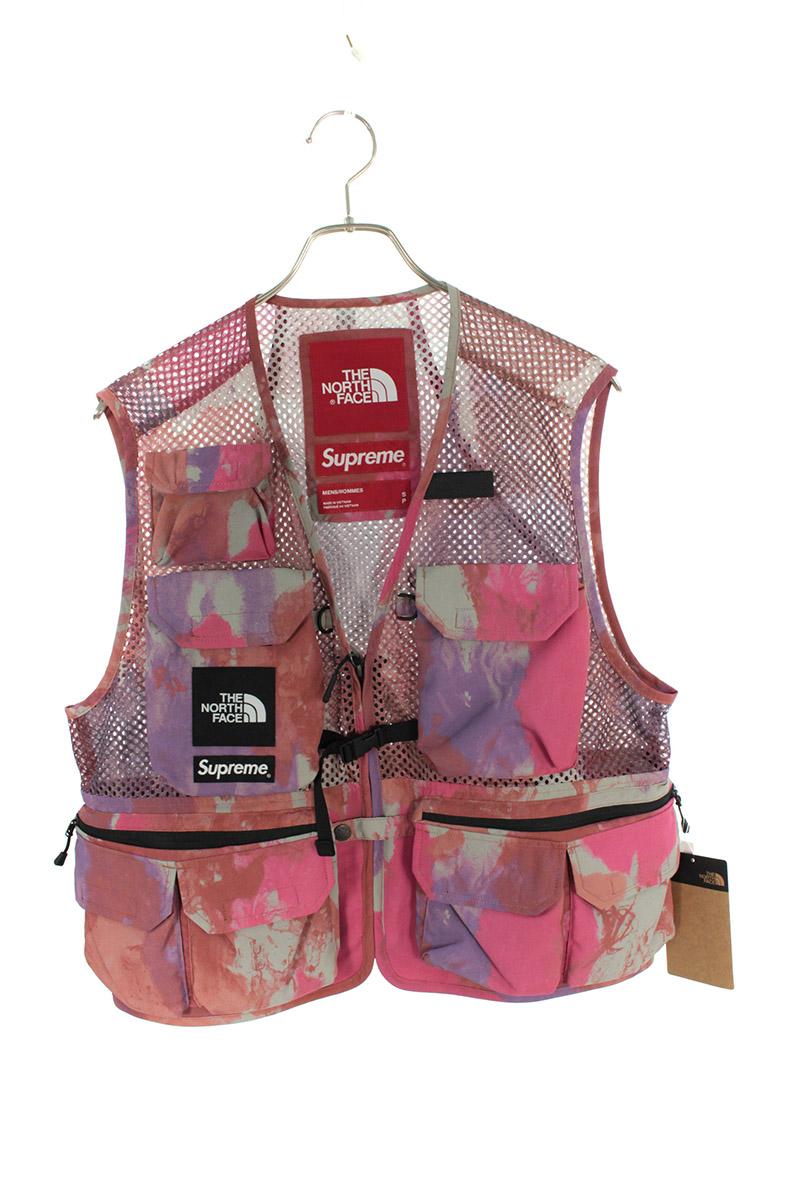 シュプリーム SUPREME × ノースフェイス THE NORTH FACE Cargo Vest カーゴマルチポケットベスト