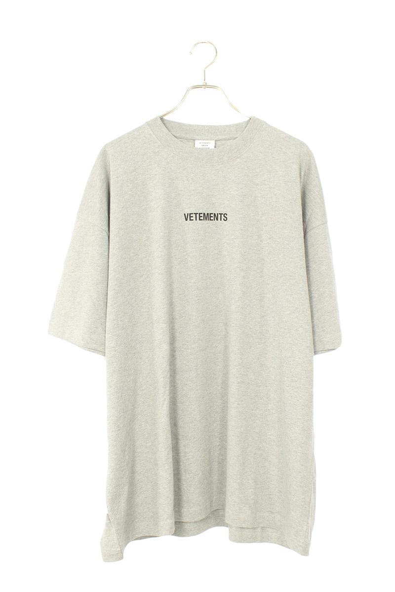 ヴェトモン VETEMENTS UAH20TR611 フロントロゴパッチTシャツ