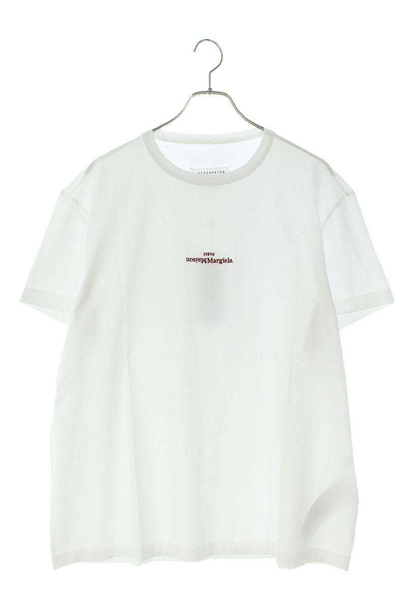 メゾンマルジェラ Maison Margiera S30GC0701 ディスト―テッドロゴプリントTシャツ