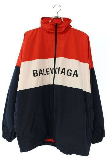 バレンシアガポプリントラックジャケット