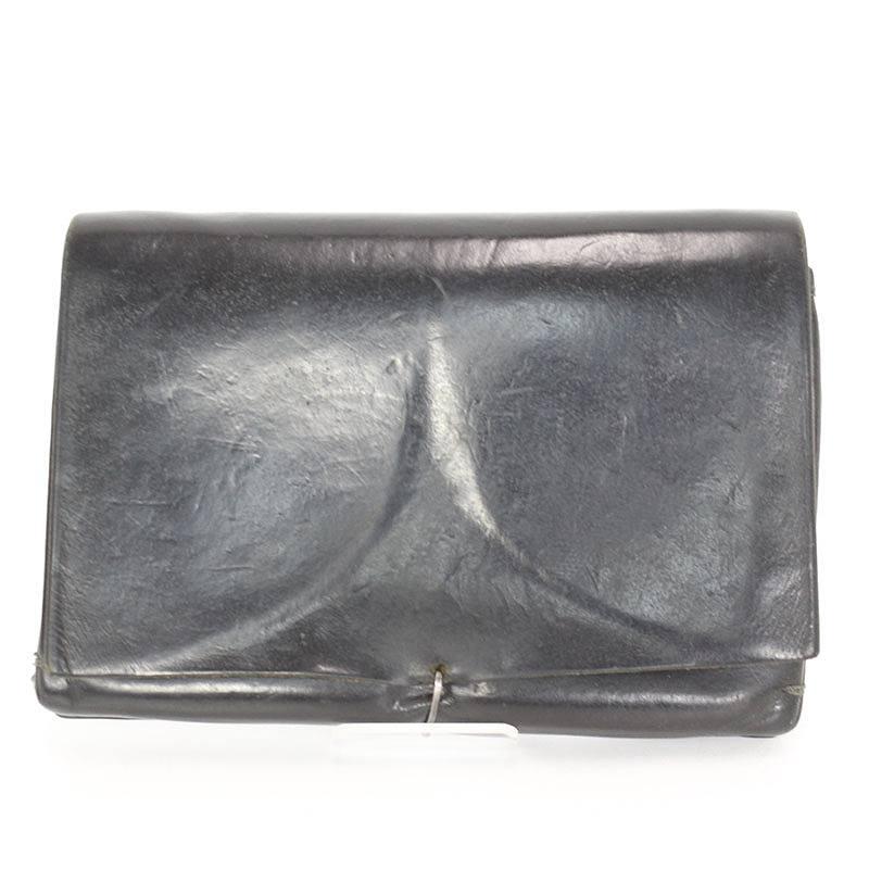 エムエークロス M.A+ クロス付折り畳みレザー財布