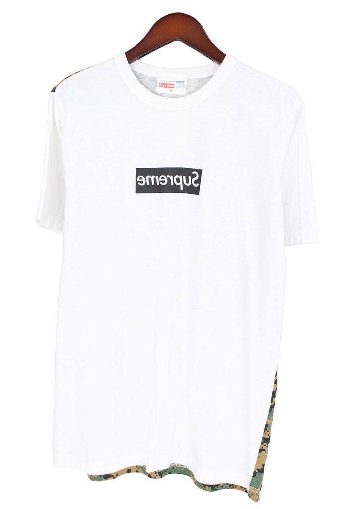 シュプリーム SUPREME × コムデギャルソンシャツ COMME des GARCONS SHIRT Box Logo Tee ミラーボックスロゴTシャツ